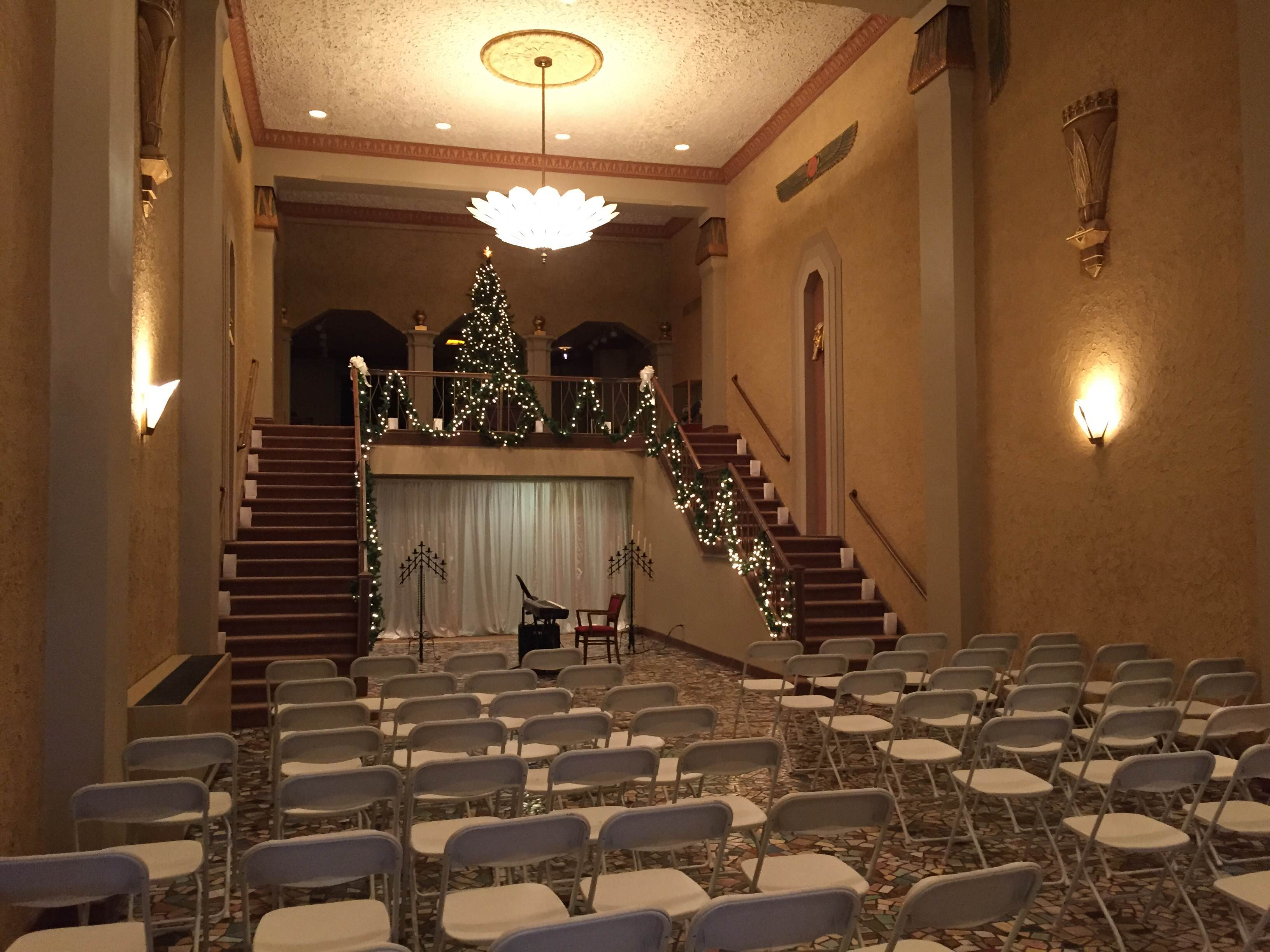 The historic egyptian theatre wedding rental wedding december 2014 junglespirit Images