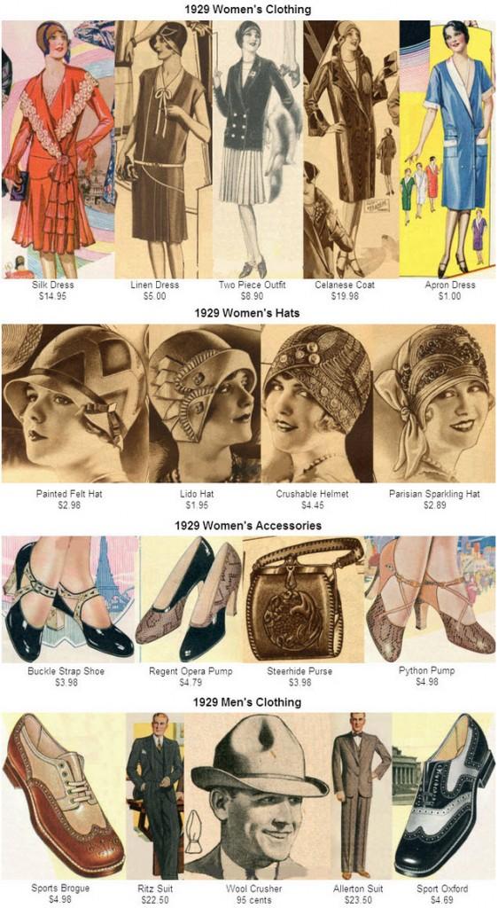 1929 Clothes