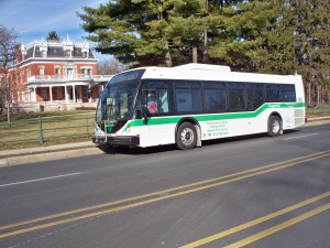 VAC Green Line Bus